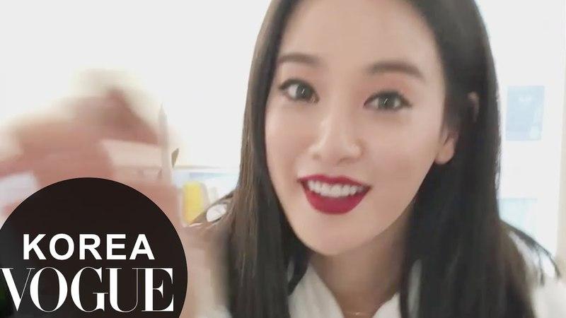 [VOGUE TV] 이주연의 메이크업 - 섹시한 레드립 바르기