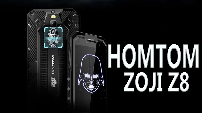 HOMTOM ZOJI Z8 4G Smartphone 4GB RAM 64GB ROM IP68 Waterproof