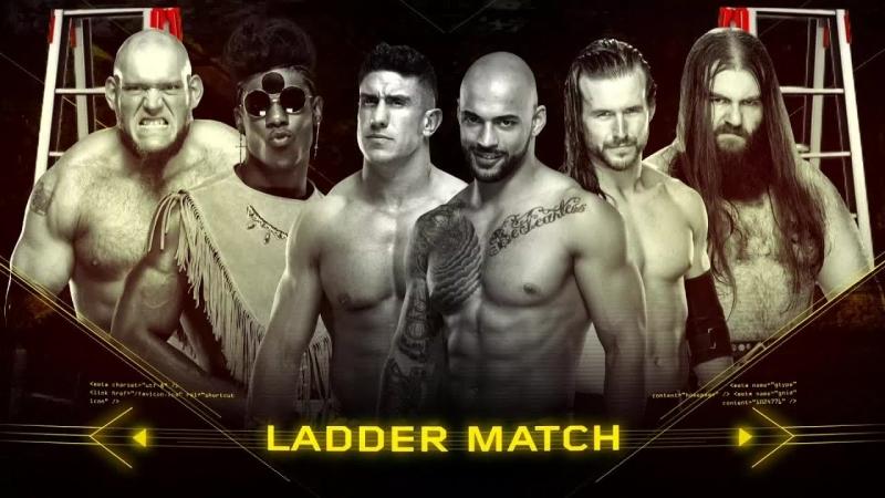 NXT: TakeOver New Orleans- Adam Cole vs EC3 vs Killian Dain vs Lars Sullivan vs Ricochet vs Velveteen Dream