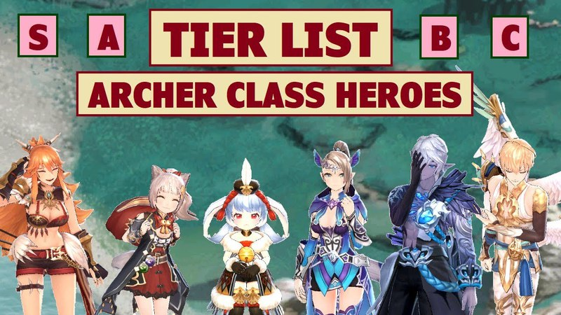 King's Raid - Tier List for Archer Class Heroes Content Ratings