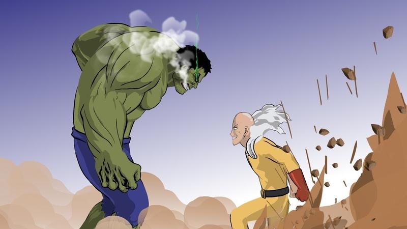Hulk vs Saitama (Part 2) - Taming The Beast