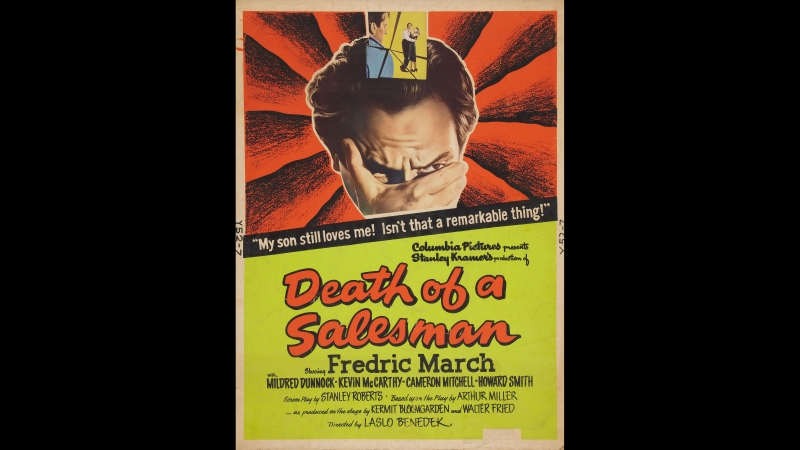 Death of a Salesman (La muerte de un viajante) 1951 Dir: Laslo Benedek
