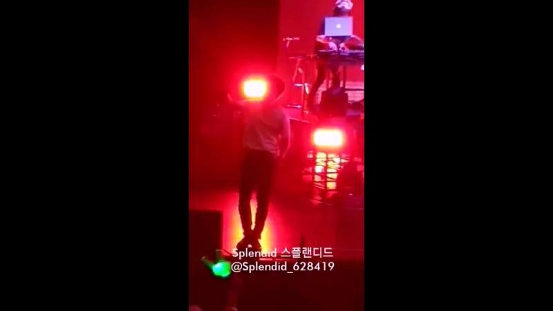 [FANCAM] [08.07.18] B.A.P LIMITED in Taipei: Bang x2 (Daehyun focus)