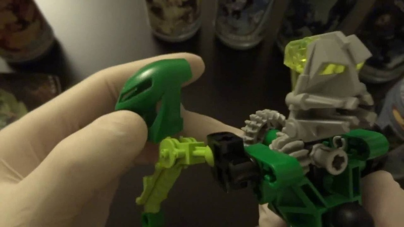 Lego Bionicle Intermittent Whisper for ASMR [HD]
