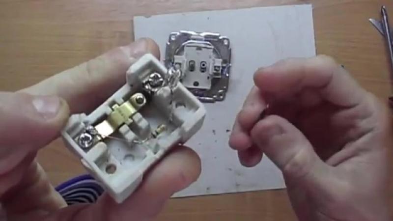 Устранение мигания светодиодных и энергосберегающих лампочек, если выключ