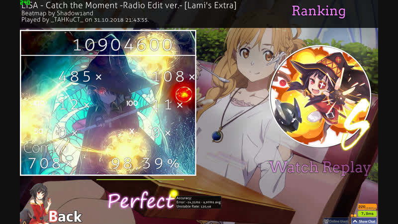 LiSA - Catch the Moment -Radio Edit ver.- [Lami's Extra], 98.39 acc FC, 244 pp