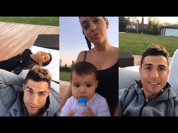 Cristiano Ronaldo diz que ama a Argentina e responde brasileiro na live do Instagram!