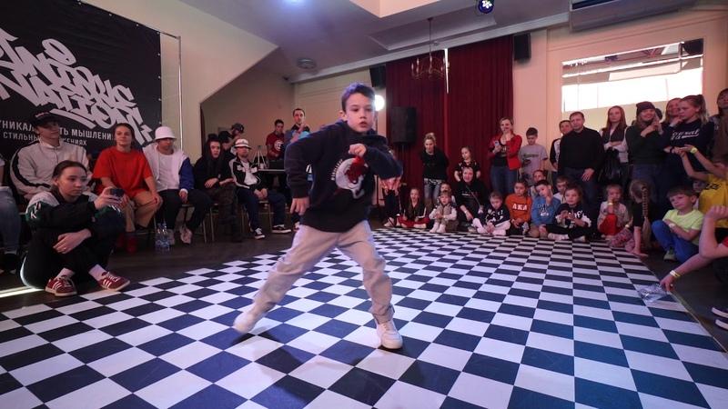 Hype (Ufa) vs. Cherkasova Vika (Tyumen) | Semifinal. Hip-Hop little one 1x1