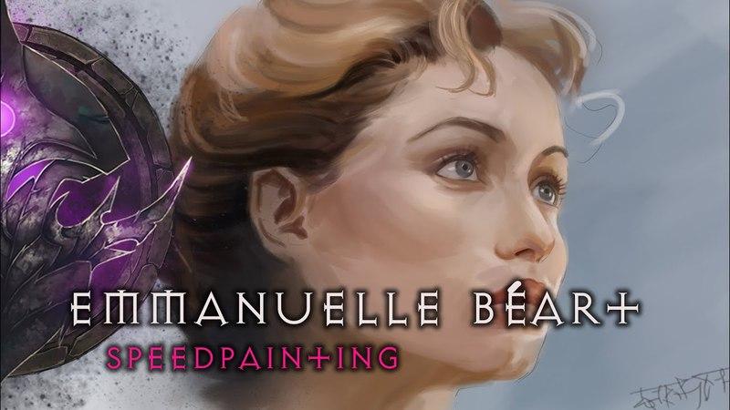 Эммануэль Беар ► Speedpainting