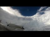 Самолет в США пролетел через глаз урагана