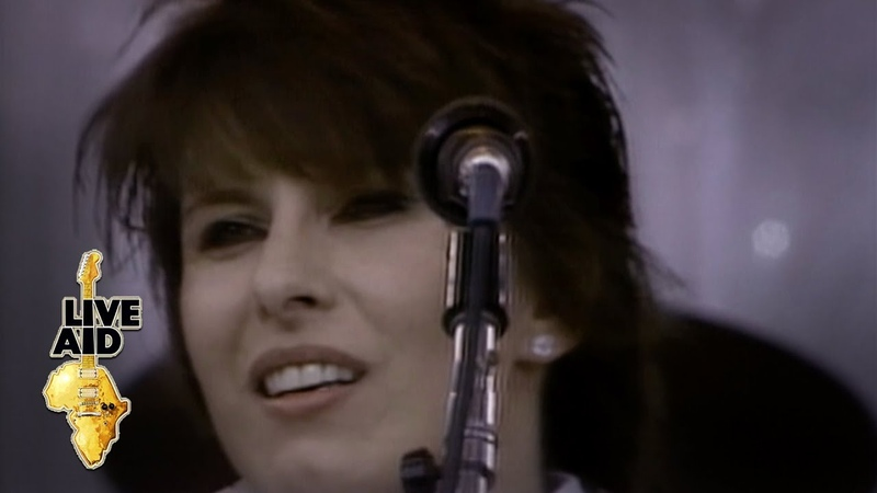Pretenders Back On The Chain Gang Live Aid 1985