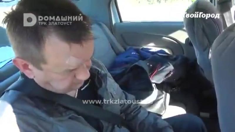 ГИБДД поймали нетрезвого водителя на въезде в Златоуст