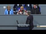 Petr Bystron (AfD) legt sich, mit der Vizepr