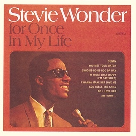 Stevie Wonder альбом For Once In My Life