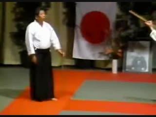 lip from the lost seminars series. Saito Sensei had a commanding presence on stage!
