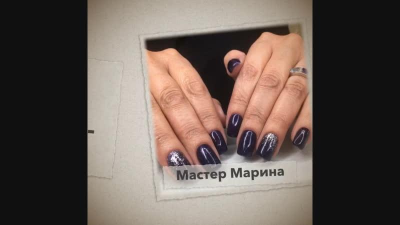 Аппаратный маникюр 💅 Укрепление гель-лаком💎 Мастер Марина❤️ ☎️93-06-06