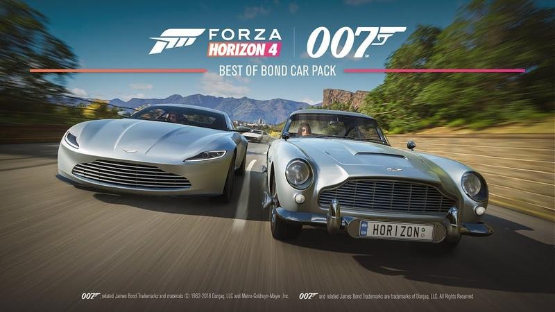 Forza Horizon 4 -- Best of Bond Car Pack