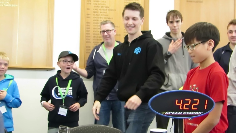 Rubik's Cube World Record 4 22 seconds