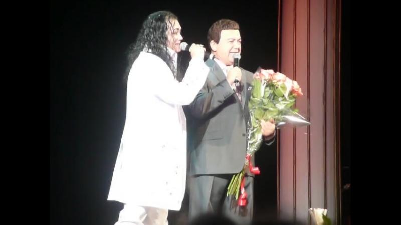 Иосиф Кобзон и Игорь Наджиев в Театре эстрады (2012)