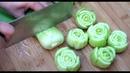 上海青好吃好看有诀窍,学会这种特色做法,翠绿爽口,简单营养又解馋