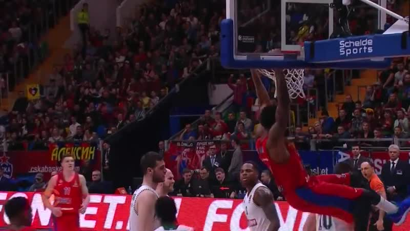 CSKA Moscow - Panathinaikos OPAP Athens Highlights _ Turkish Airlines EuroLeague