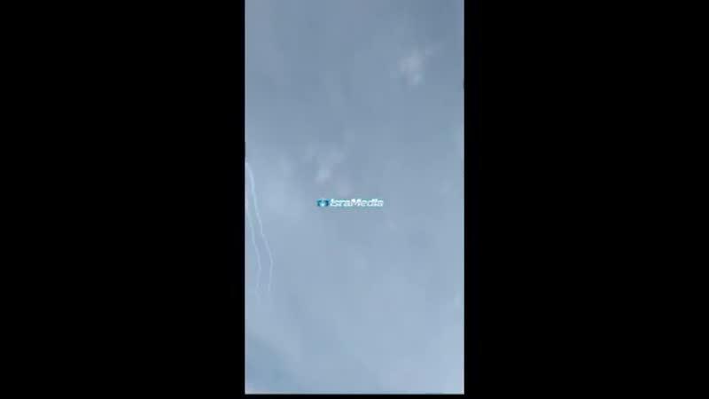 Запущенная по Израилю сирийская ракета была перехвачена ЗРК Железный купол над горой Хермон, где на горнолыжном курорте были р