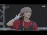 180825 NCT 127 - Chain, Limitless, TOUCH (Japanese Ver.), Fire Truck & Cherry Bomb @ a-nation 2018 in Tokyo
