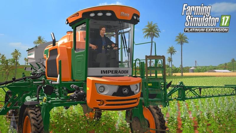 Игровой стрим 66 Играем с подписчиками в Farming Simulator 17 06 Конкурс