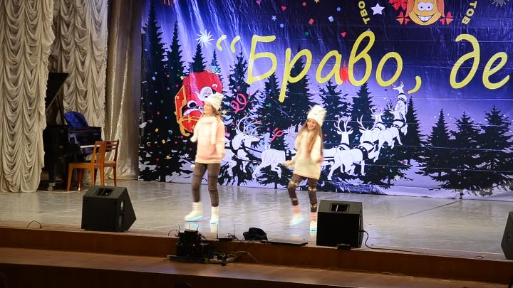 Песенка о снежинке от Мариэтты и Оли МАРИсОЛЬ поздравок