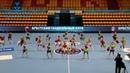 Образцовый ансамбль танца Черный Лотос на очередном туре детской гандбольной лиги Zubr Cup
