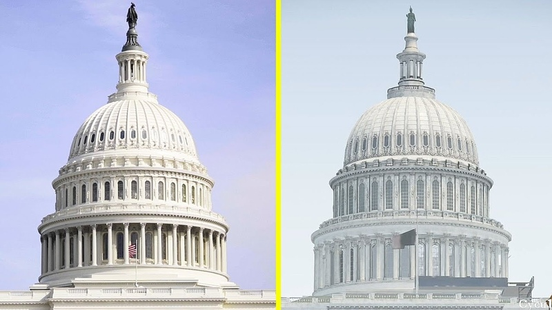 The Division 2 Game vs Real Life DC Landmarks Comparison