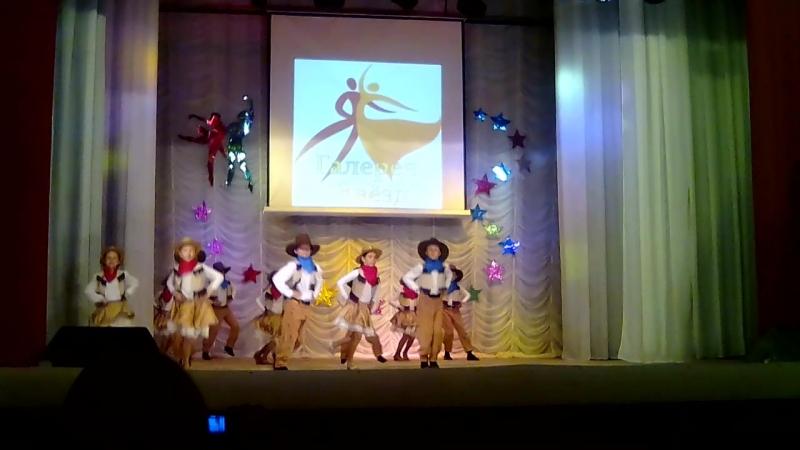 Средняя группа Восторг 2. Танец Ковбойские забавы