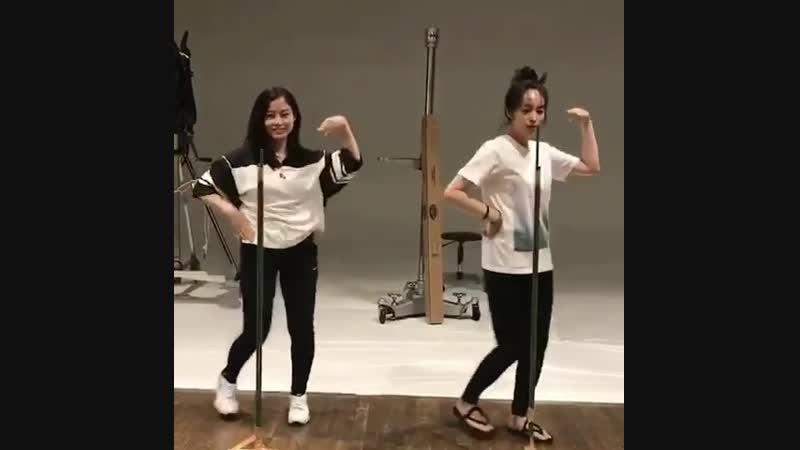 Репетиция танца (девочки)