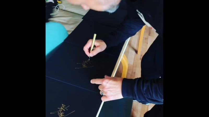 Signing the new Album