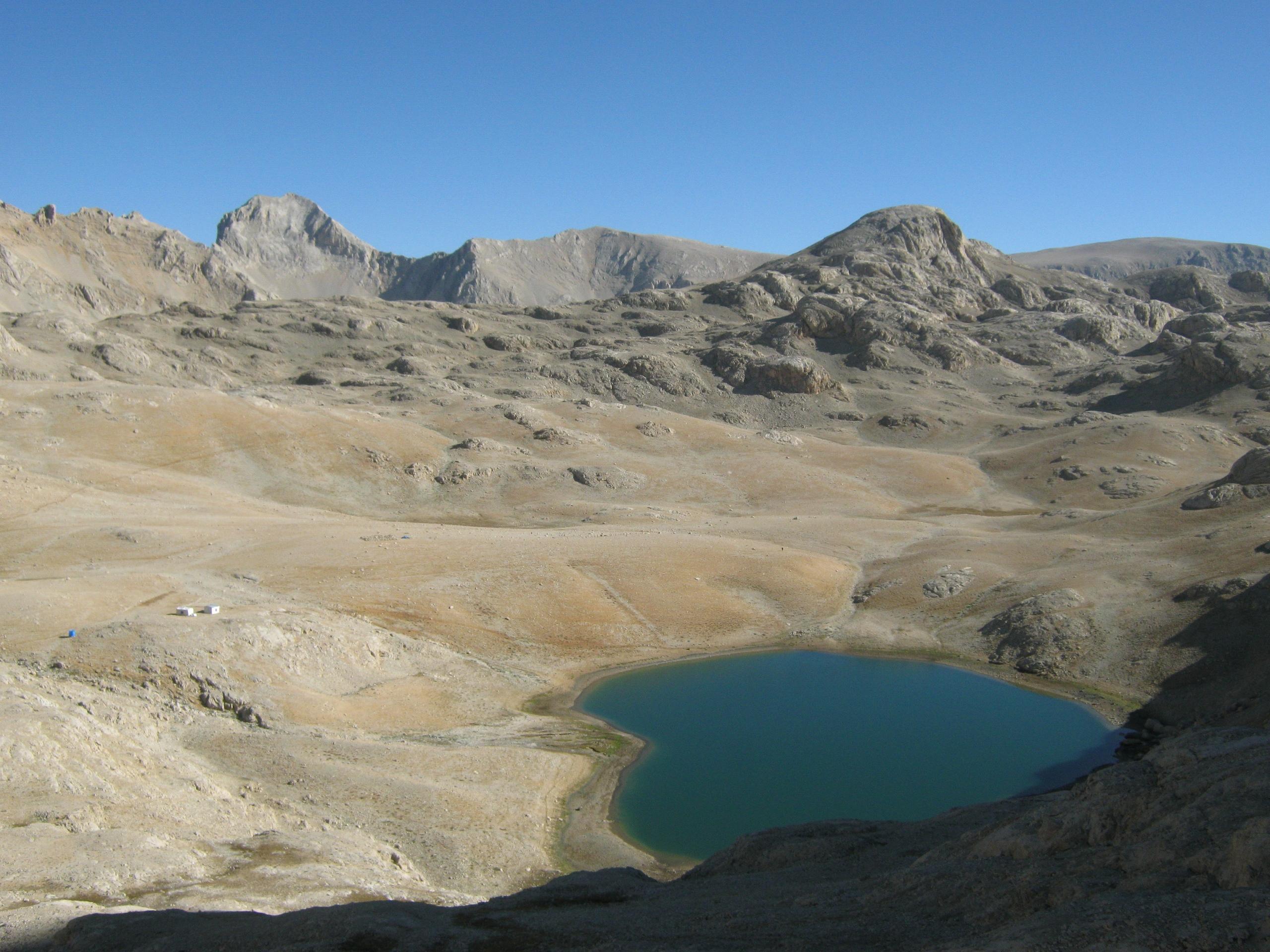 большое озеро на плато Йедигёллер