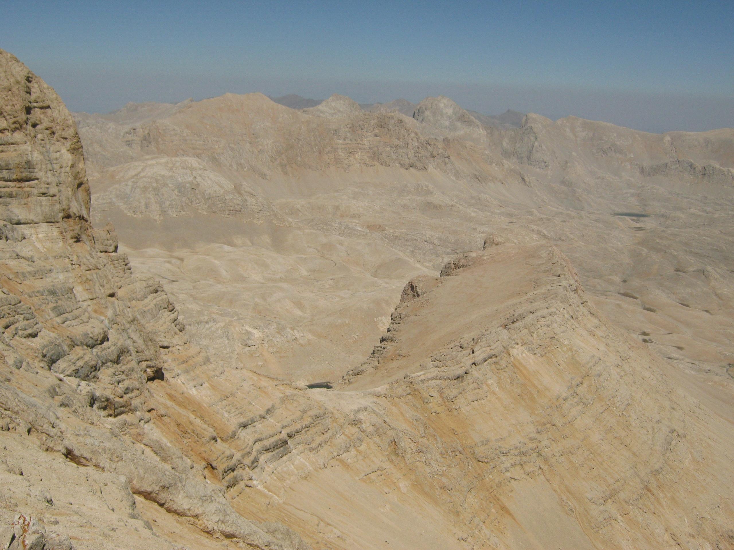 Вид на плато Йедигёллер