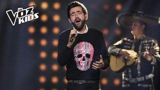 Alejandro González canta La Estrategia   La Voz Kids Colombia 2018