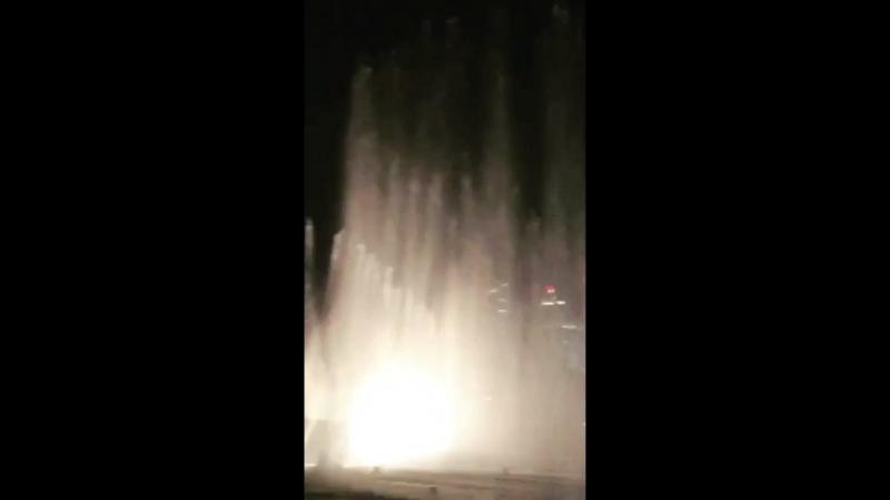 Поющие фонтаны в Дубае♥️