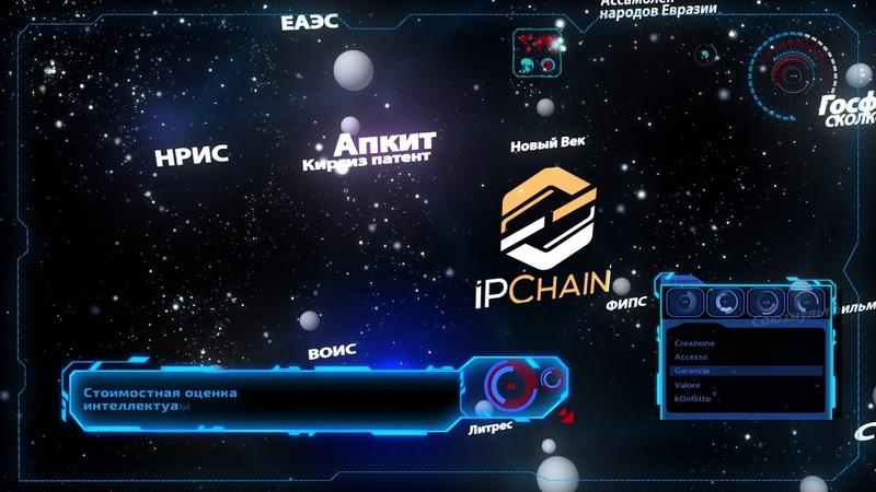 Анимационный 3D ролик IPChain