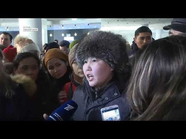 Астанада көп балалы аналар әлеуметтік талап қойып жатыр Радио Азаттык