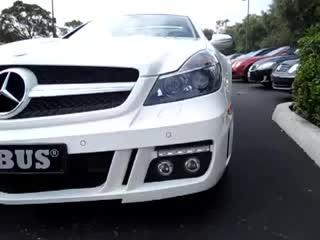 White Brabus Mercedes-Benz SL600