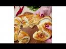 Круассаны с беконом | Больше рецептов в группе Кулинарные Рецепты