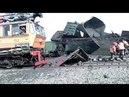 Два товарных поезда столкнулись под Новосибирском
