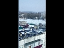 пожар в военном городке