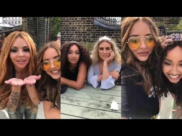 Little Mix | Instagram Live Stream | Perrie Edwards, Jade, Jesy Leigh | August 15 2018 LittleMix
