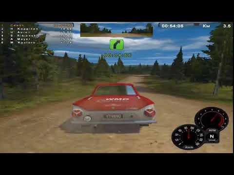 Полный обзор игры Ралли Трофи, часть 1/Complete Review of Rally Trophy Game, part 1