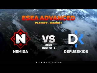 Nemiga vs. Defusekids // ESEA ADVANCED - PLAYOFF - ROUND 1