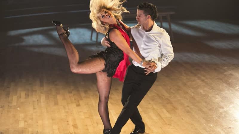 👠 Танцы со Звёздами: Пейдж ВанЗант и Марк Баллас — Танго [DWTS: S22, 2016]
