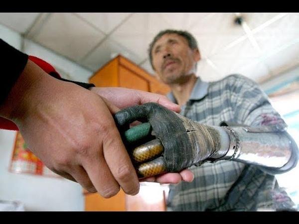 Китаец собрал себе руки из мусора | Скрипачка с протезом играет как профи