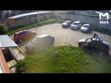 Пьяные девки портят автомобиль